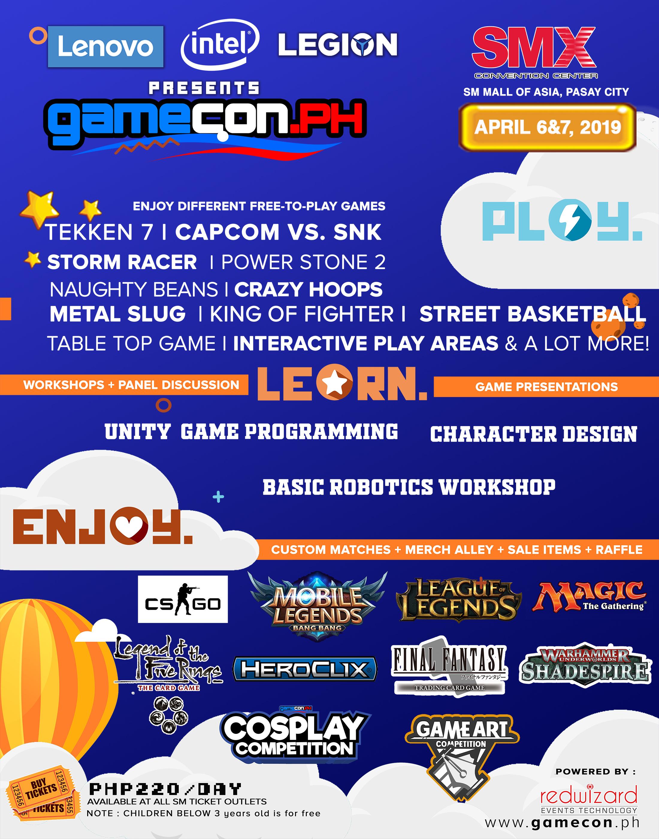 Gamecon Details