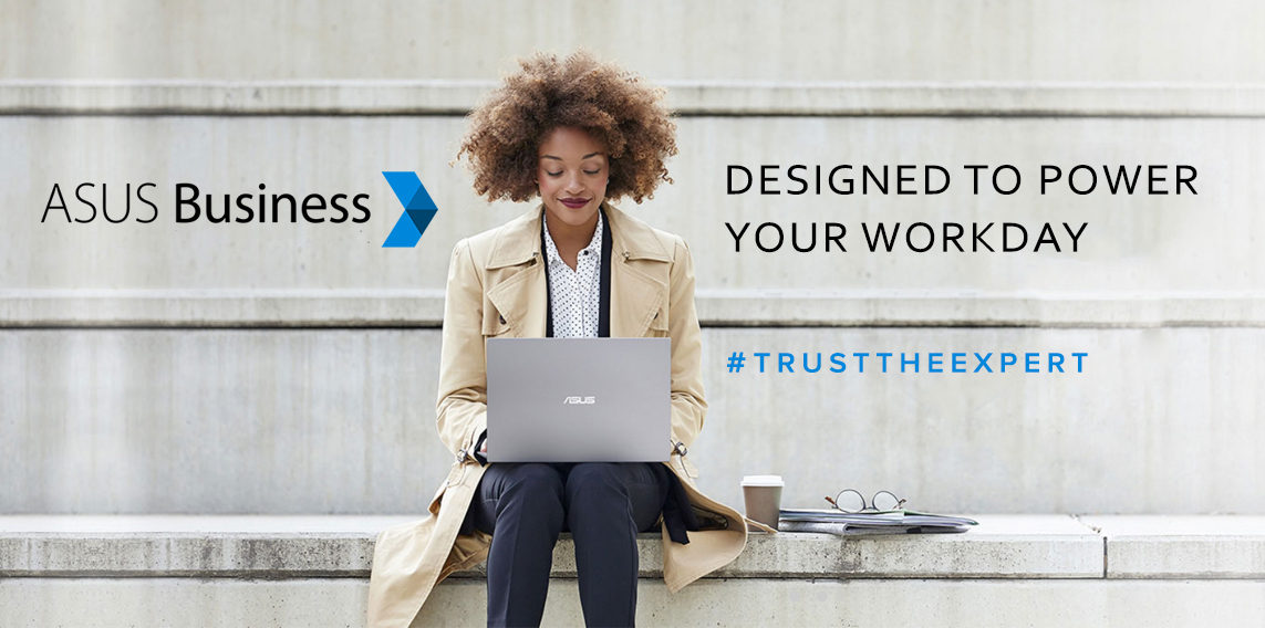 ASUS BUSINESS HOME BANNER